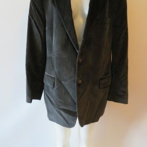 THEORY Suits & Blazers - THEORY GRAY VELVET SINGLE BREAST BLAZER SIZE 44R